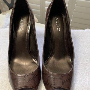 Aldo Brown Heels.